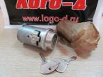 Выключатель зажигания ВАЗ 2101-07 без упаковки (железный ключ)